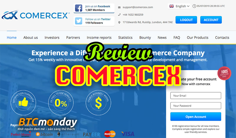 review comercex